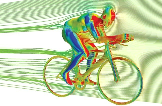 Bike Aerodymanics Visualized