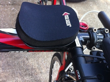 Cee Gees Aerobar Pads On Bike Review