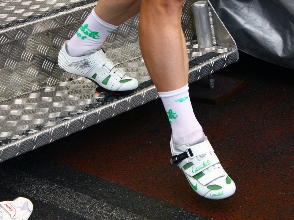 Cyclign Shoes And Socks